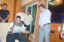 Devendra Fadanvis & Milind Ballal